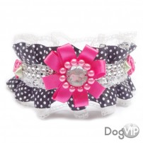COLLIER FROU FROU A POIS